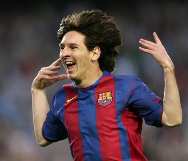 Primera Division - Le FC Barcelone célèbre le quinzième anniversaire du premier but de Lionel Messi