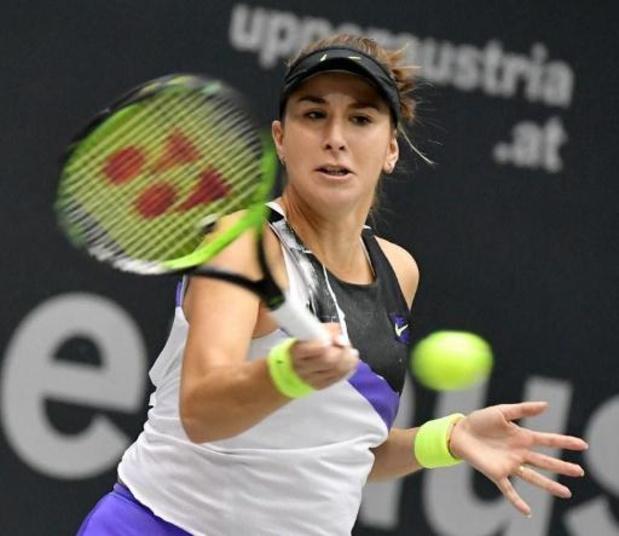 Belinda Bencic is eerste finaliste WTA Moskou
