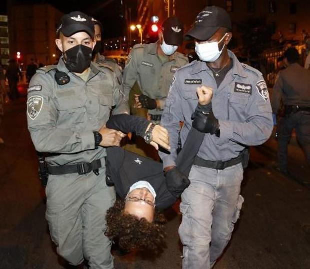 Nouvelles manifestations contre Netanyahu en Israël, 11 protestataires arrêtés