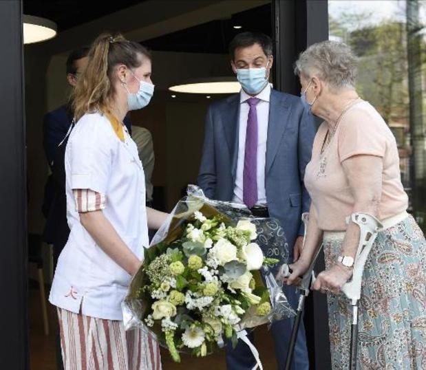Premier De Croo bedankt thuisverpleegkundigen voor inzet tijdens de coronacrisis