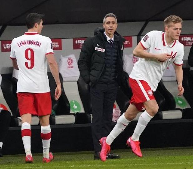 Lewandowski hervat looptraining