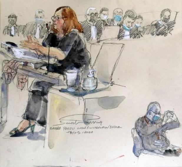 Hof hoort Belgische onderzoeksrechter Isabelle Panou op assisenproces naar aanslagen in Parijs