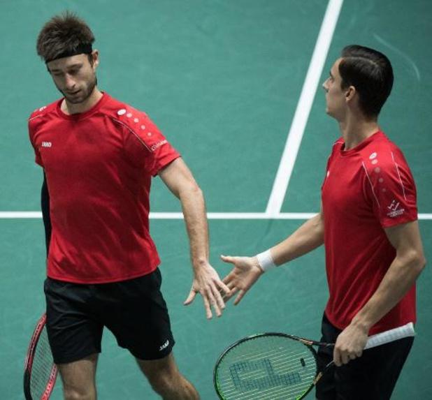 ATP Auckland - Sander Gillé en Joran Vliegen naar halve finales