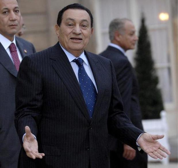 Familie krijgt toegang tot fortuin van Egyptische ex-president Hosni Moebarak in EU
