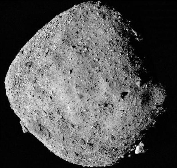 Sonde verzamelt materiaal van ruimterots op 333 miljoen kilometer
