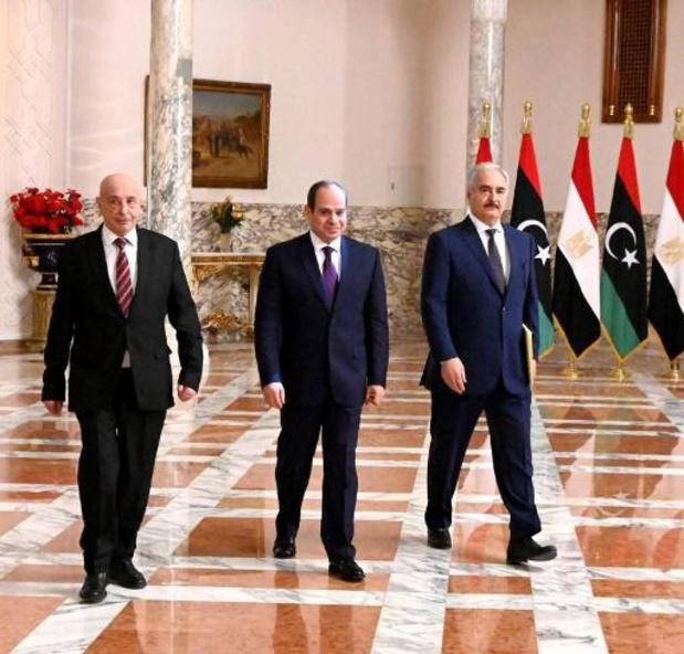 Conflict Libië - Egypte dreigt met interventie in Libië
