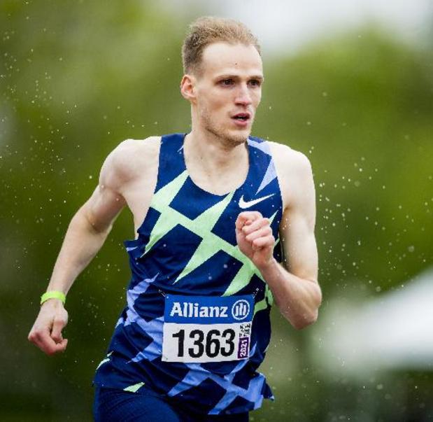Eliott Crestan plaatst zich voor Tokio met indrukwekkende solotocht op de 800 meter