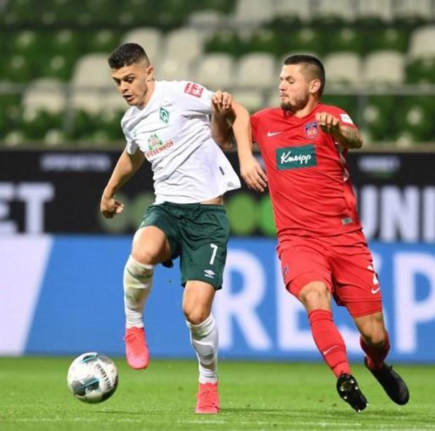 Bundesliga - Brême accroché à domicile par Heidenheim en barrage aller