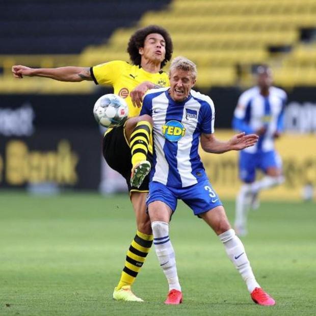 Bundesliga - Dortmund, avec Witsel et Hazard, se joue de l'Hertha Berlin par le plus petit écart