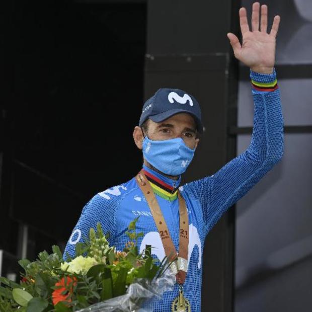 Flèche Wallonne: Alejandro Valverde, 3e, fêtera ses 41 ans dimanche à la Doyenne