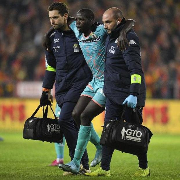 Christophe Diandy prolonge d'un an avec Charleroi