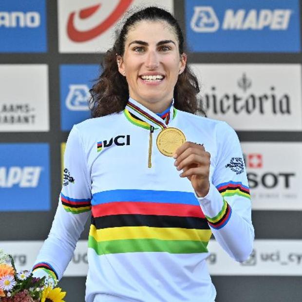 """Mondiaux de cyclisme - Le titre mondial, """"une revanche après une année difficile"""" pour Elisa Balsamo"""