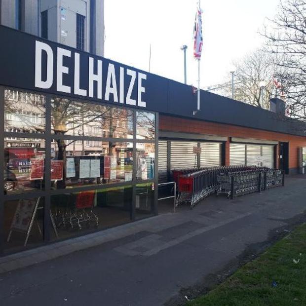 Nog twee Delhaize-winkels dicht door staking