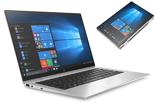 De EliteBook x360 1040 G7 kun je ook dichtklappen, met het scherm aan de buitenkant., HP