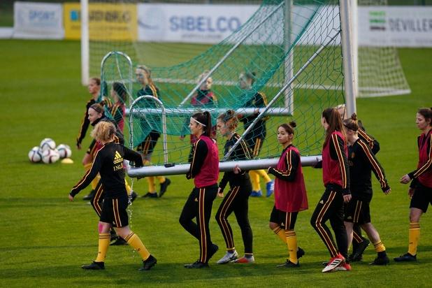 Qualification in extremis des jeunes Red Flames pour l'Euro U19