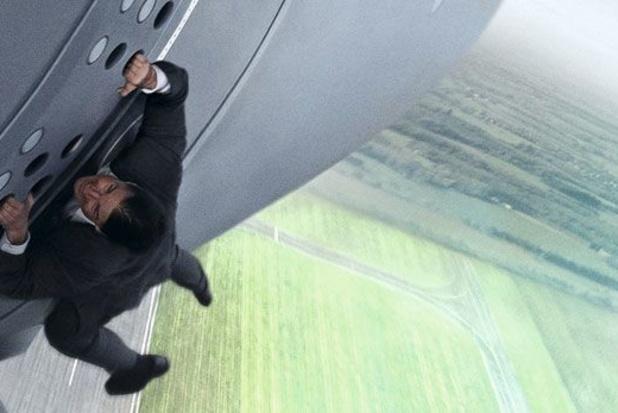 Tom Cruise draait film in de ruimte
