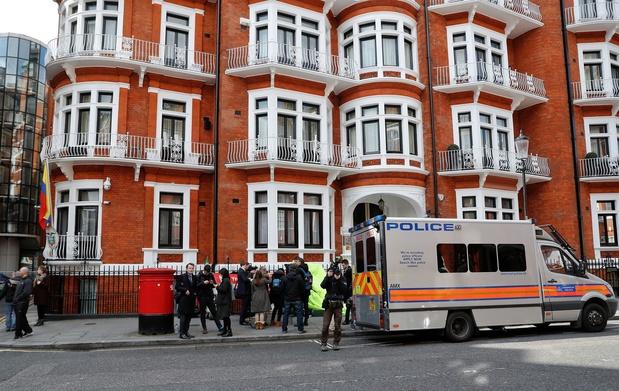 """President Ecuador: 'Assange probeerde """"spionagecentrum"""" op te richten in ambassade'"""