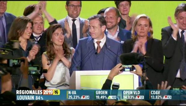 Pas de gouvernement fédéral sans majorité flamande, avertit Bart De Wever