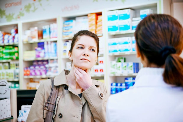 France: les TROD angine remboursés en pharmacie