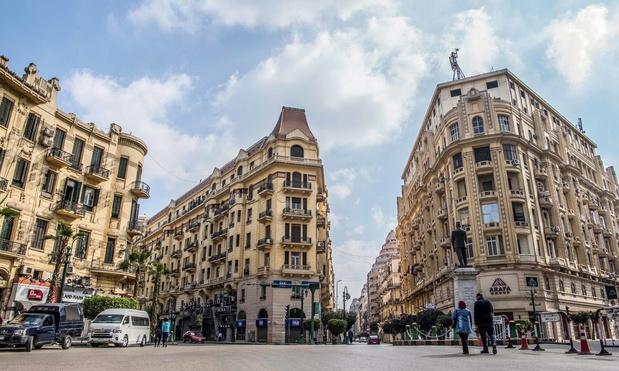 Le quartier européen du Caire menacé de disparaître