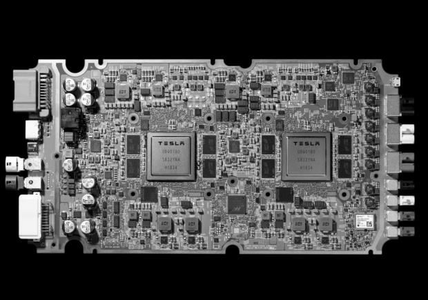 Tesla voorziet wagens van eigen AI-chip