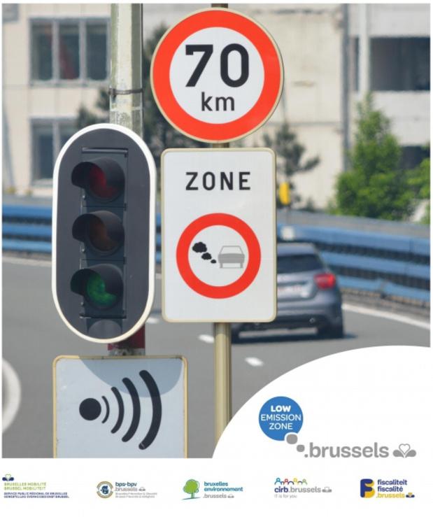 Zone de Basses Emissions à Bruxelles: bilan positif pour les véhicules historiques