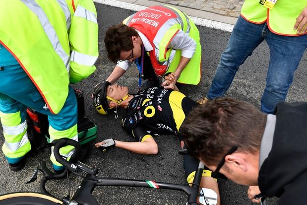Niki Terpstra past voor Parijs-Roubaix na val en opgave Ronde van Vlaanderen