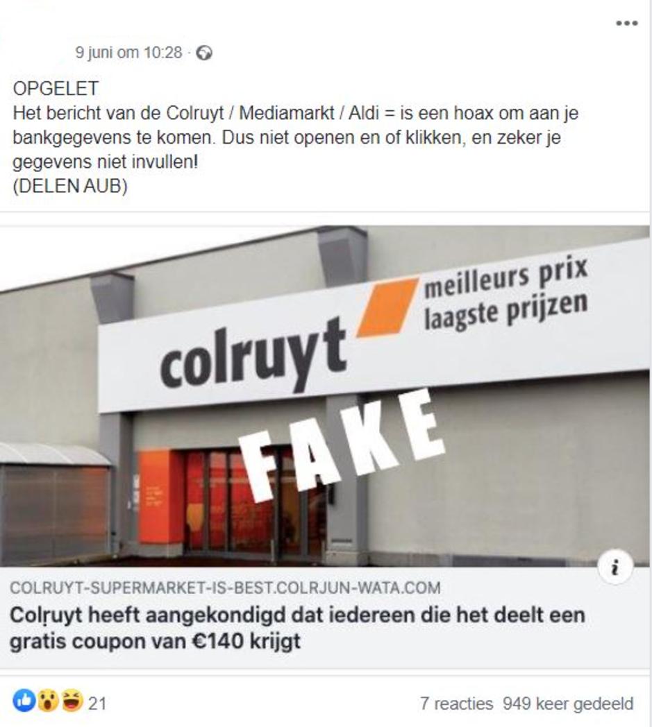 Factcheck: Nee, supermarkten geven geen waardebon van 140 euro