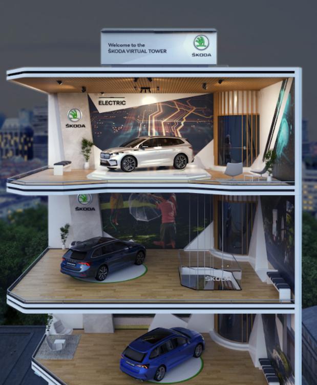 Skoda propose une expérience digitale avec la Skoda Virtual Tower