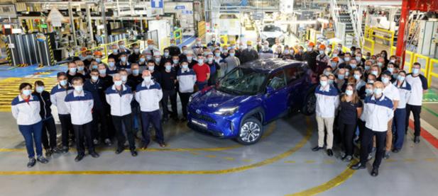 Toyota démarre la production de la Yaris Cross