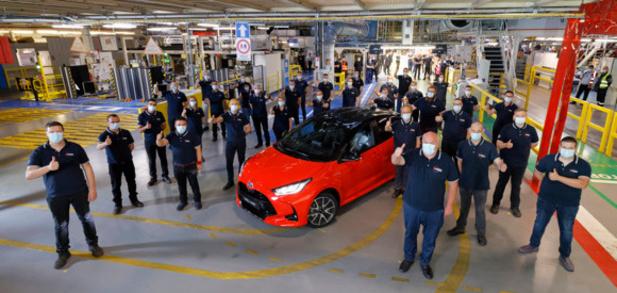 Toyota Europe lance la production de la nouvelle Yaris