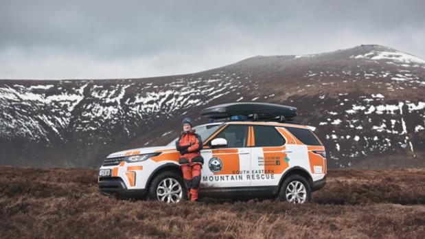 Land Rover ondersteunt bergreddingsdienst