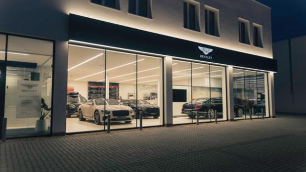 Bentley ouvre une nouvelle implantation à Anvers