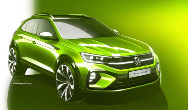 Le Volkswagen Taigo dans les starting-blocks