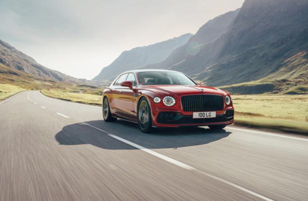 Démarrage sur les chapeaux de roue pour la Bentley Flying Spur V8