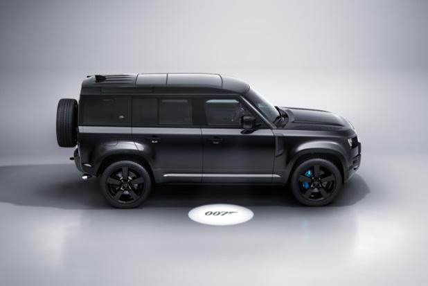 Nouveau Land Rover Defender V8 Bond Edition: pour les fans de 007