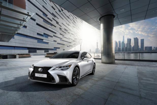 Première européenne pour la nouvelle Lexus LS