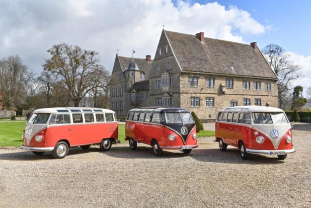 Volkswagen fête les 70 ans du Samba