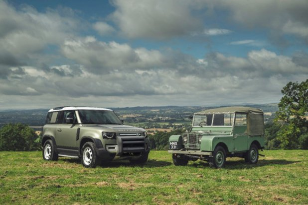 Land Rover Defender: old meets new!