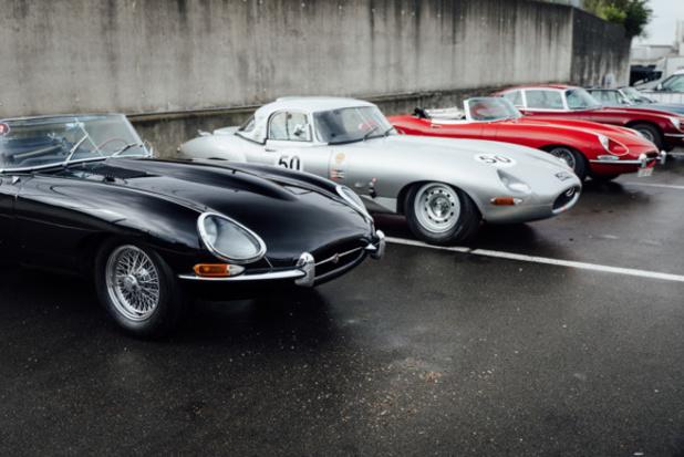 L'Historic Grand Prix célèbre les 60 ans de la Jaguar Type E