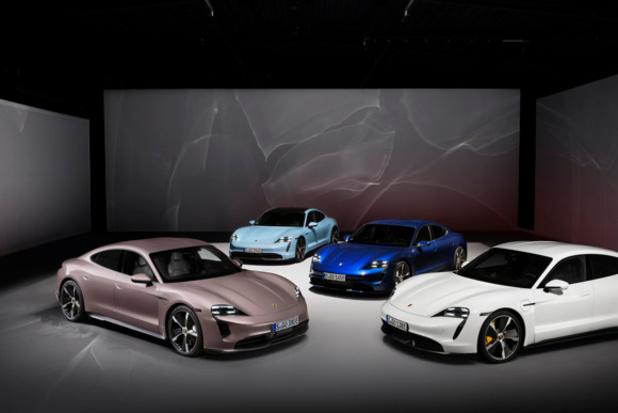Porsche complète la gamme Taycan par le bas