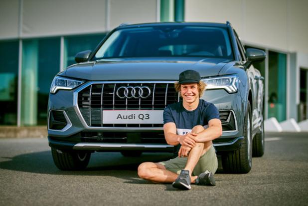 Audi is partner van skiër Sam Maes