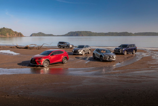 Lexus leverde reeds 5 miljoen SUV's