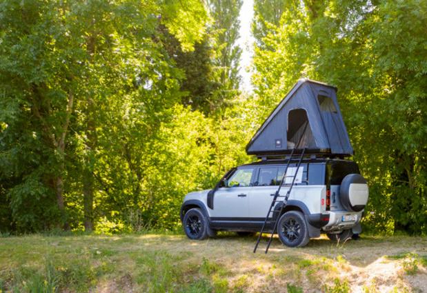 Land Rover et Autohome créent une tente de toit pour le Defender