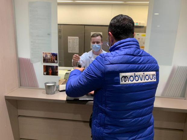 Mobvious vient en aide au personnel soignant