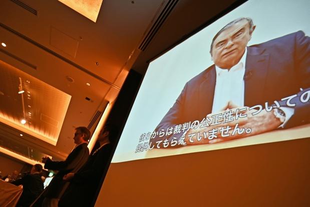 """Dans une vidéo vérité, Ghosn clame son """"innocence"""" et accuse des dirigeants de Nissan de """"trahison"""""""