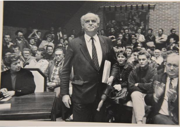 Oud-burgemeester van Wingene Willy Persyn op 96-jarige leeftijd overleden