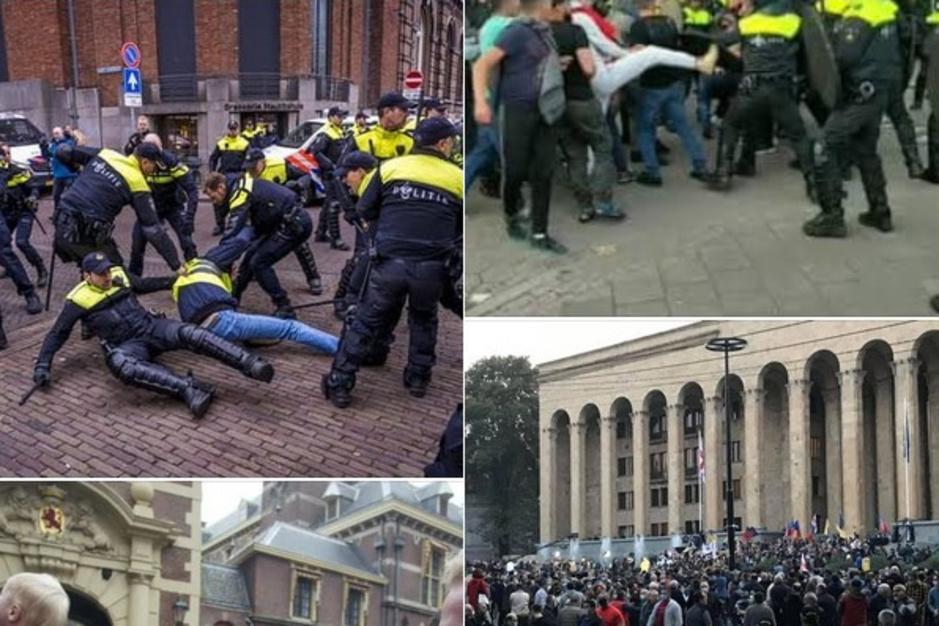 Factcheck: nee, dit zijn geen foto's van recente rellen in Den Haag