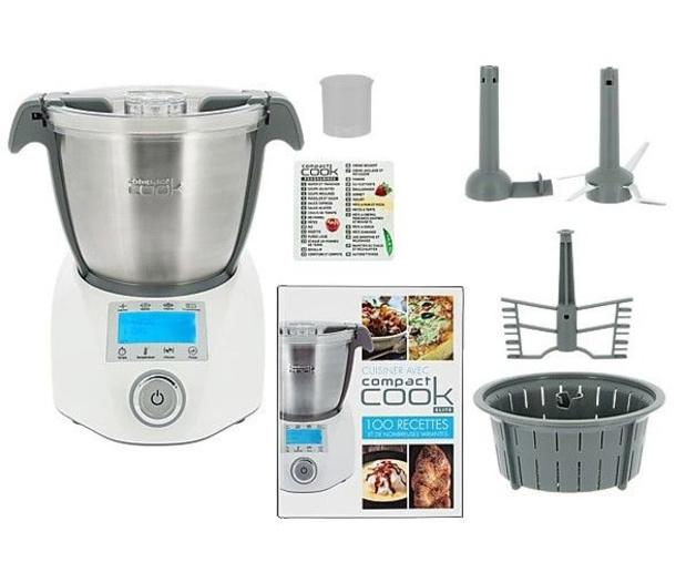 Découvrez le robot multifonction Compact Cook Elite