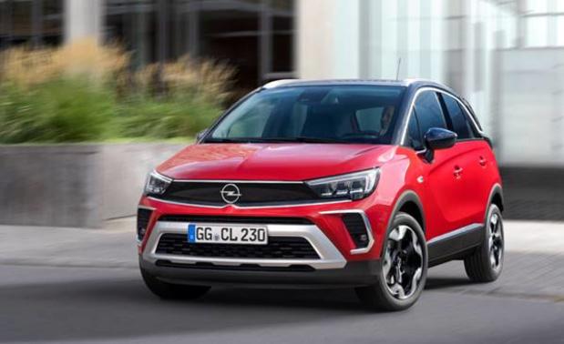 Crossland krijgt het Opel Vizor